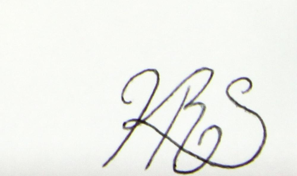 Katlen Smithers's Signature