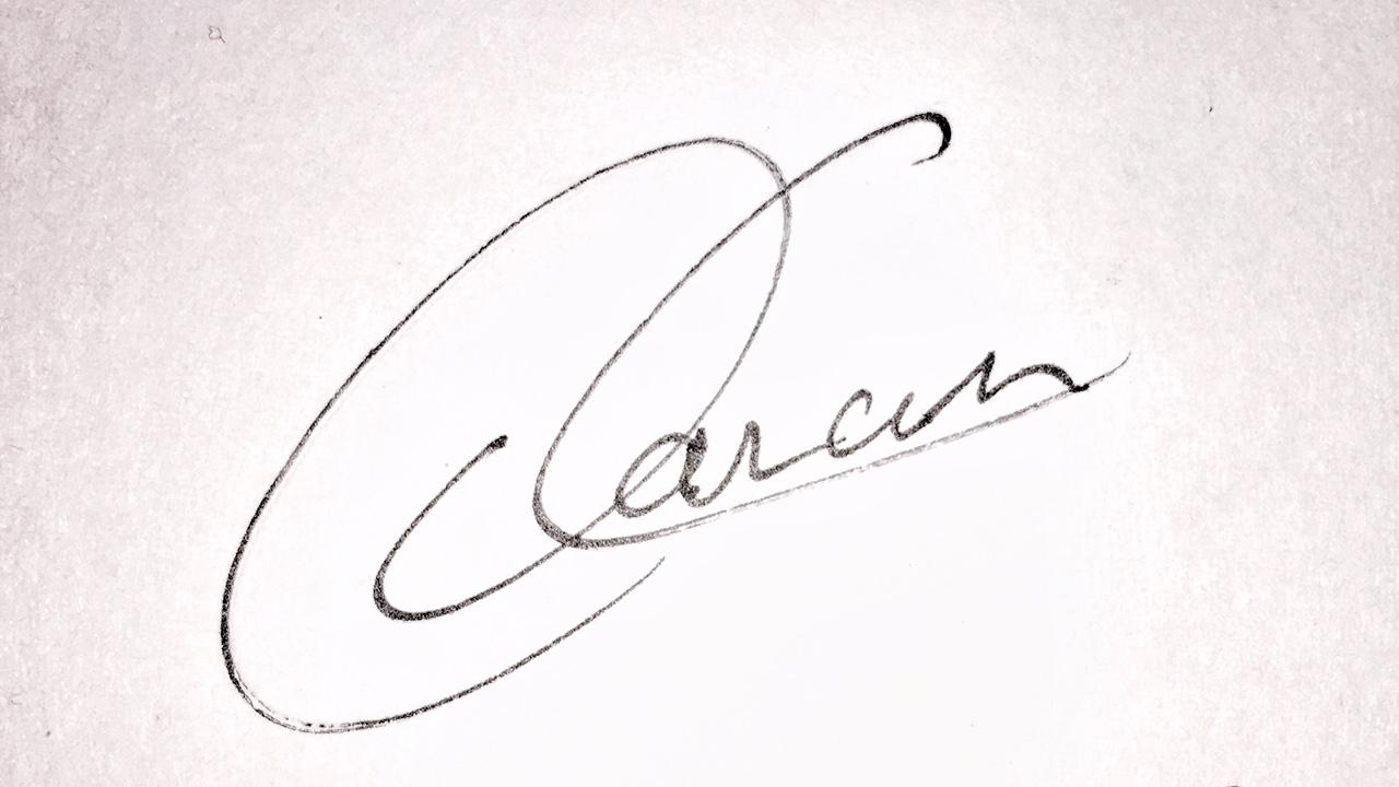 Daniel Canales's Signature