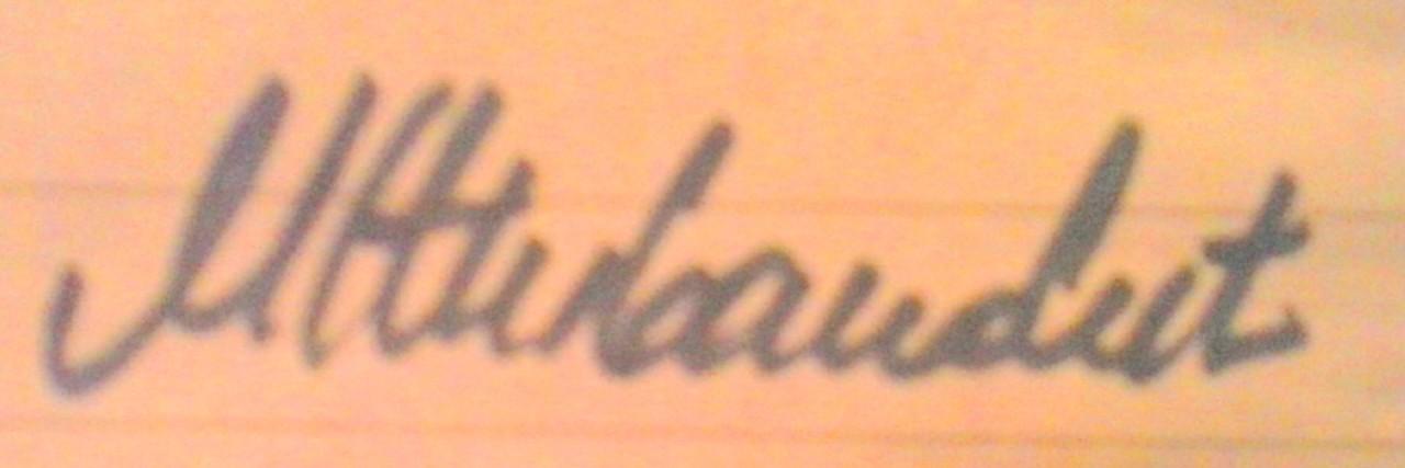 Marijana živanovic's Signature