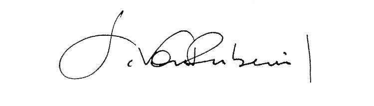 sandra von rubenwil's Signature