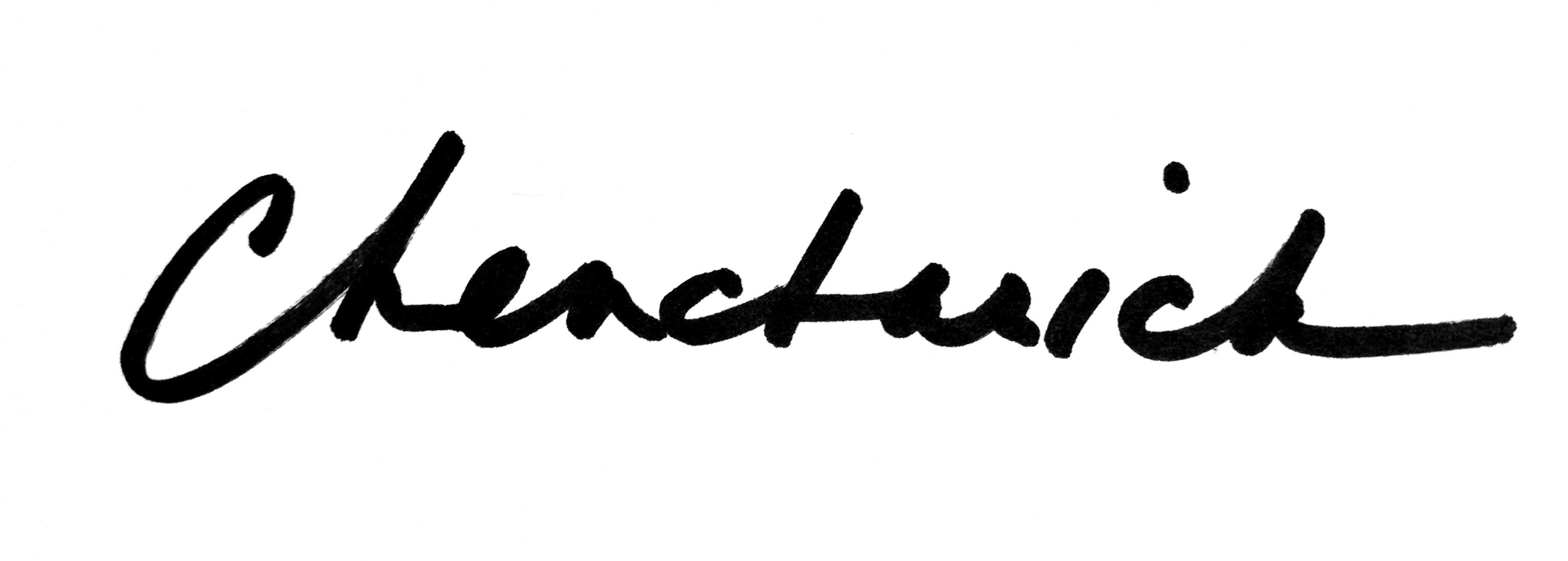 Diane Chencharick's Signature