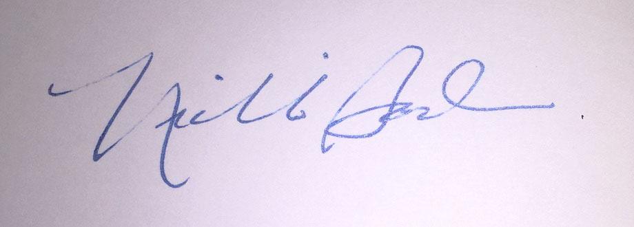 Nichole Bodin's Signature