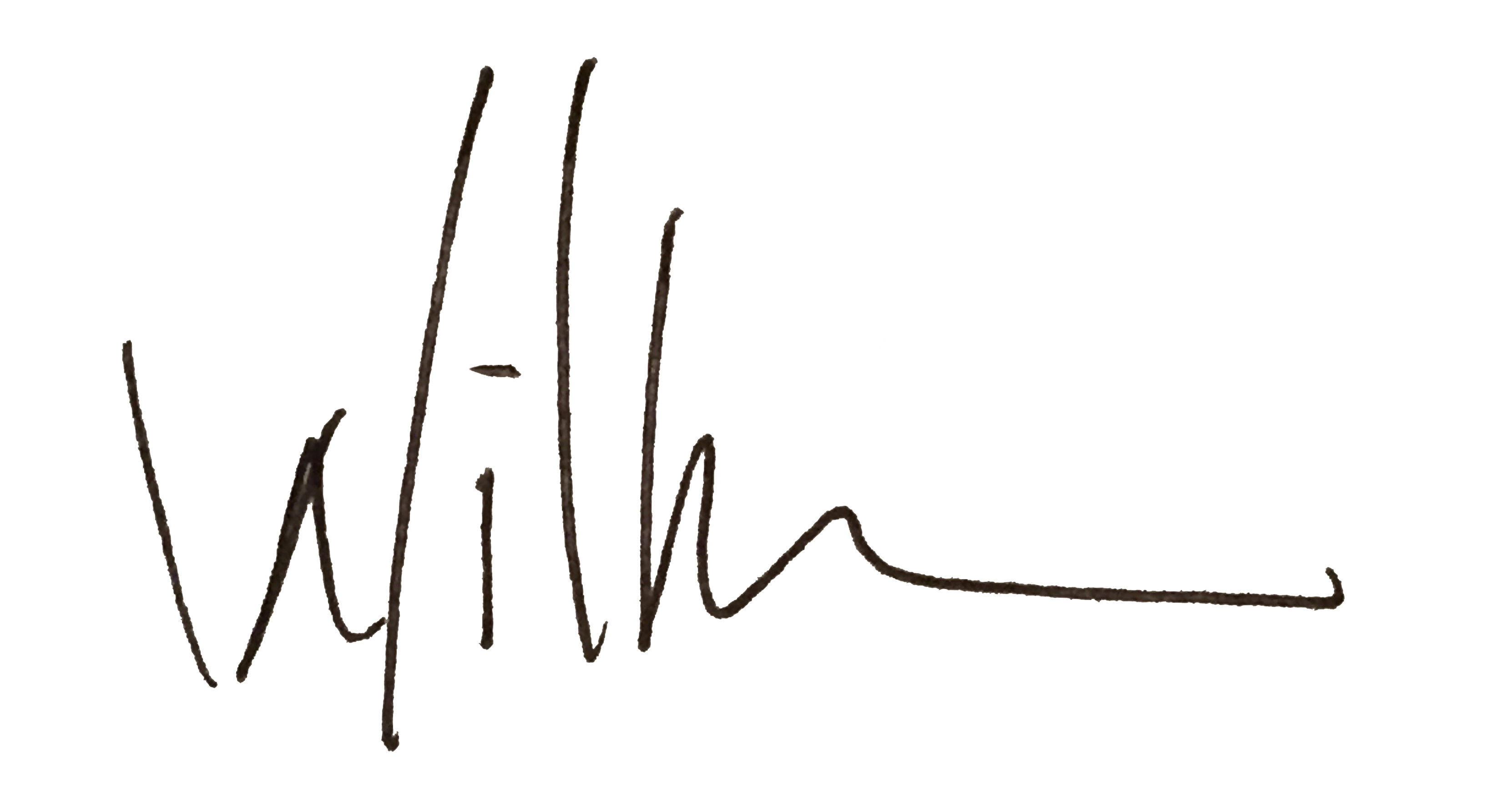 Willy Wilson's Signature