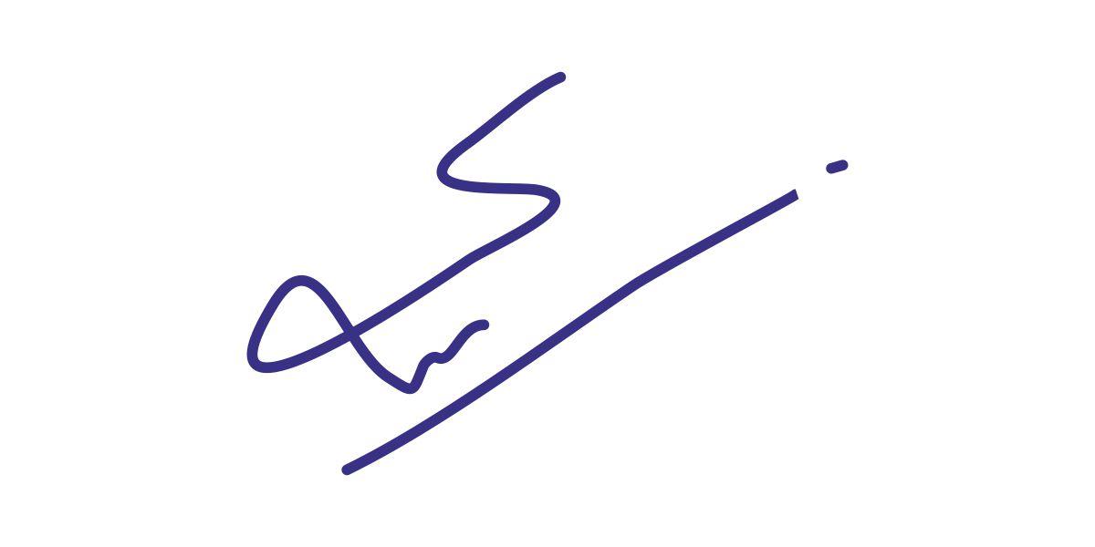Syed Faiz Mubarak's Signature