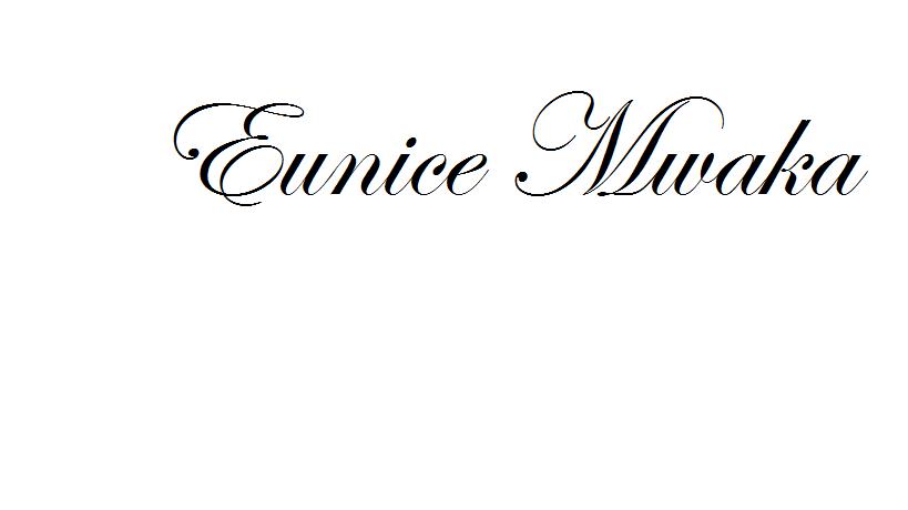 EUNICE MWAKA's Signature