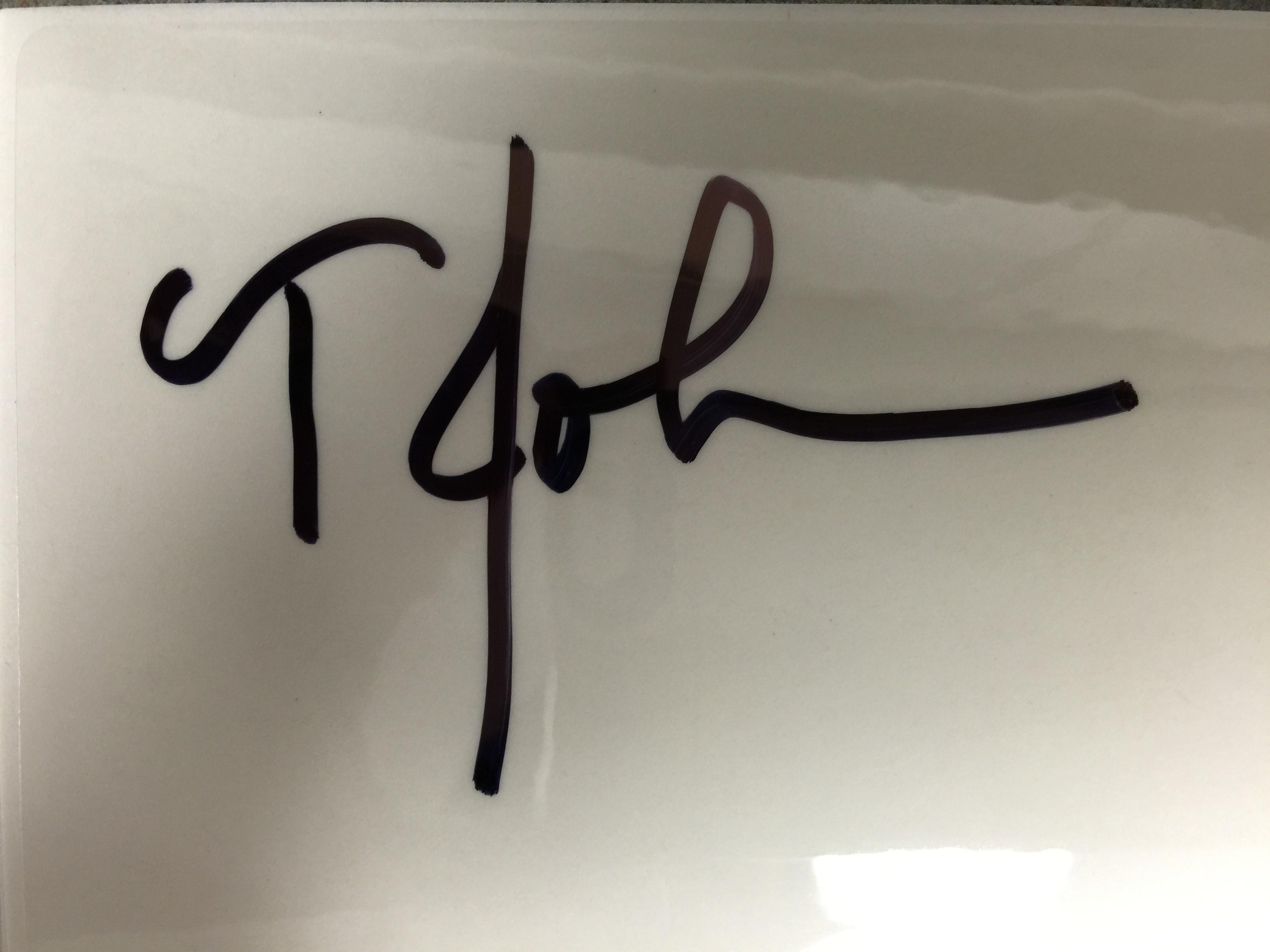 Teresa Johns's Signature