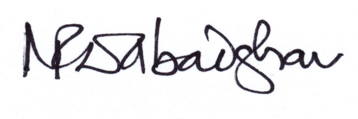 Ninad Dabadghav's Signature