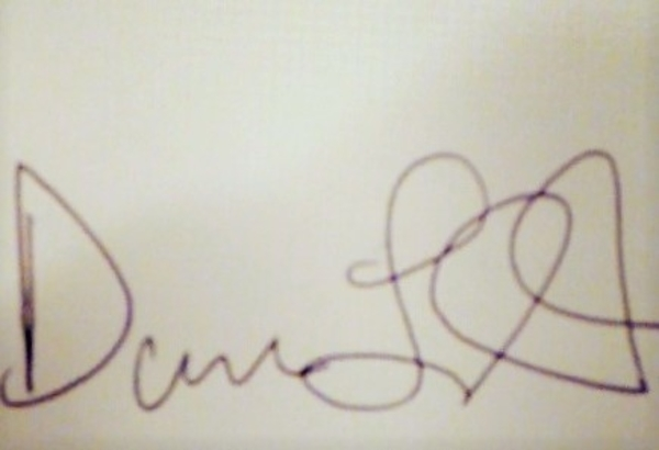Dane Light's Signature