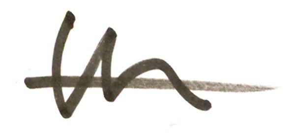 Douglas Thompson's Signature