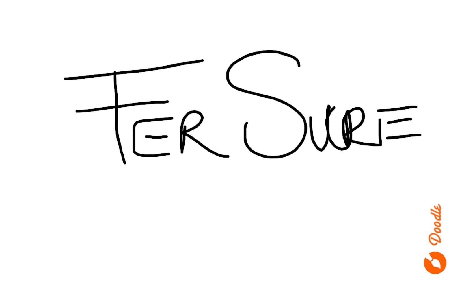 Fernando  Sucre's Signature