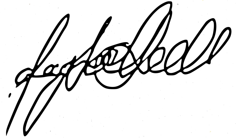 Taylor Hall's Signature