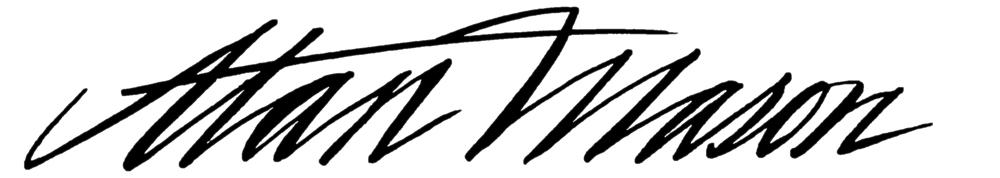Alan mason's Signature
