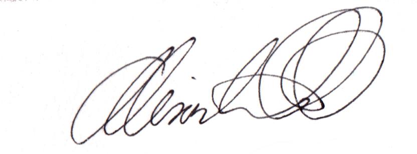 Alison Watt's Signature
