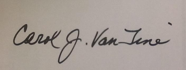 Carol Van Tine's Signature