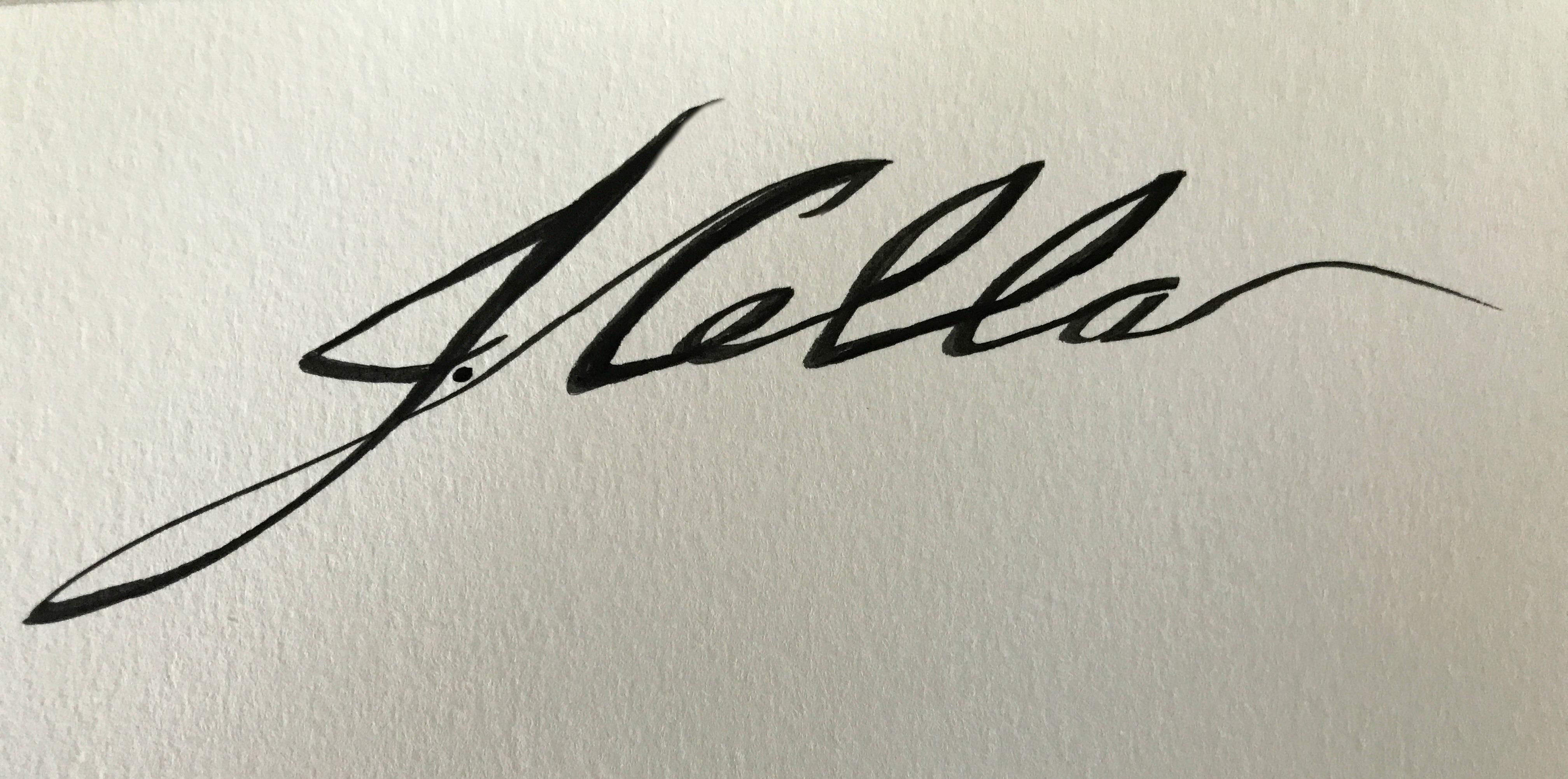 Joann Cella's Signature