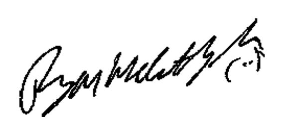 Ryan McCarthy's Signature