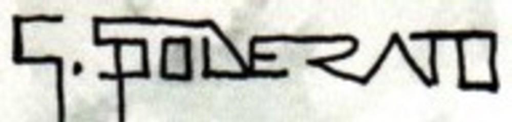 Giulio Spolverato's Signature