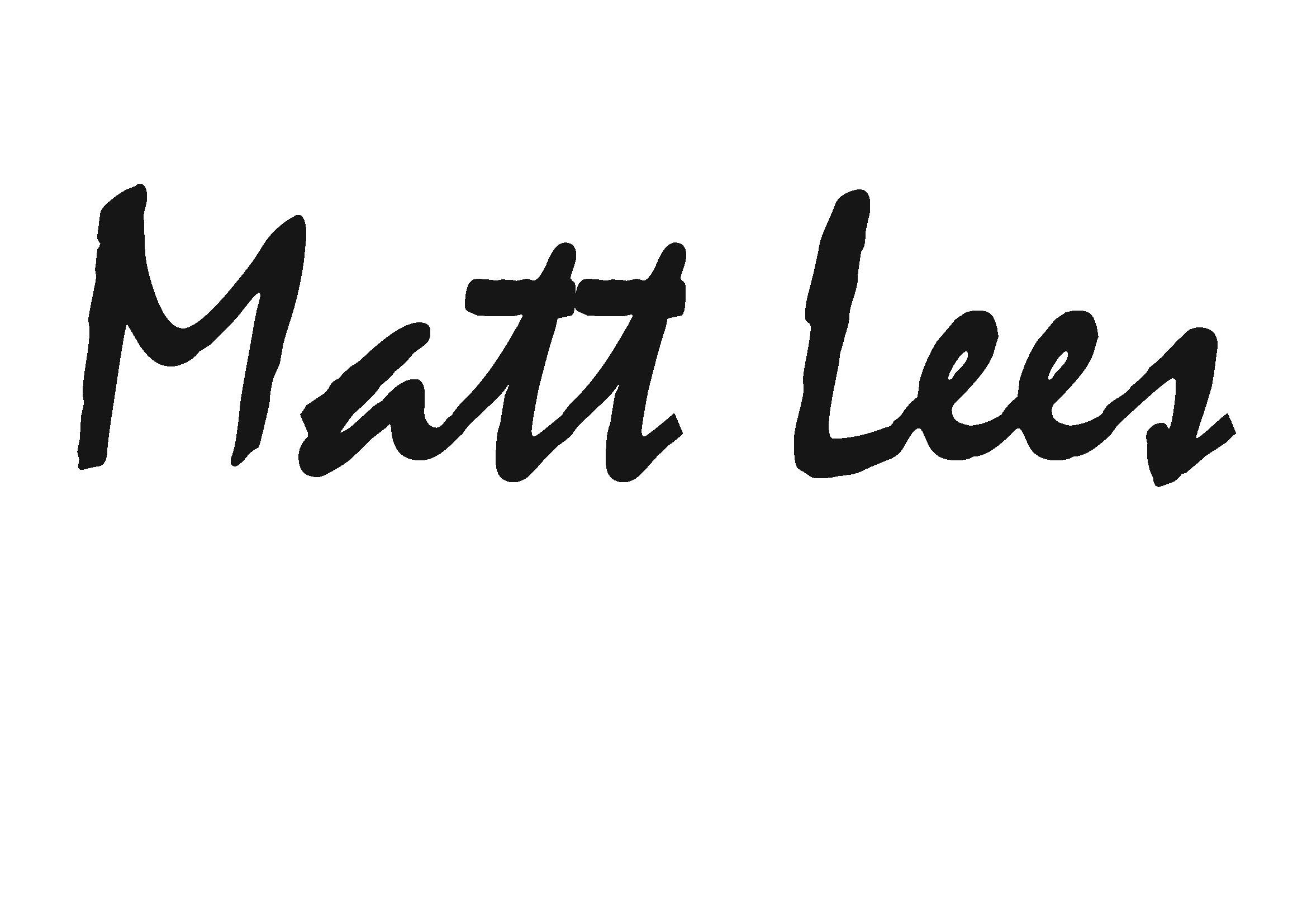Matt Lees's Signature