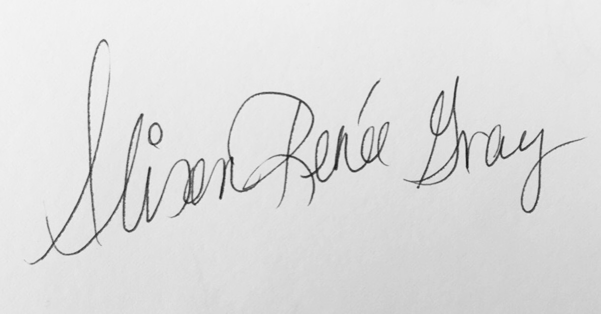 Alison Renee Gray's Signature