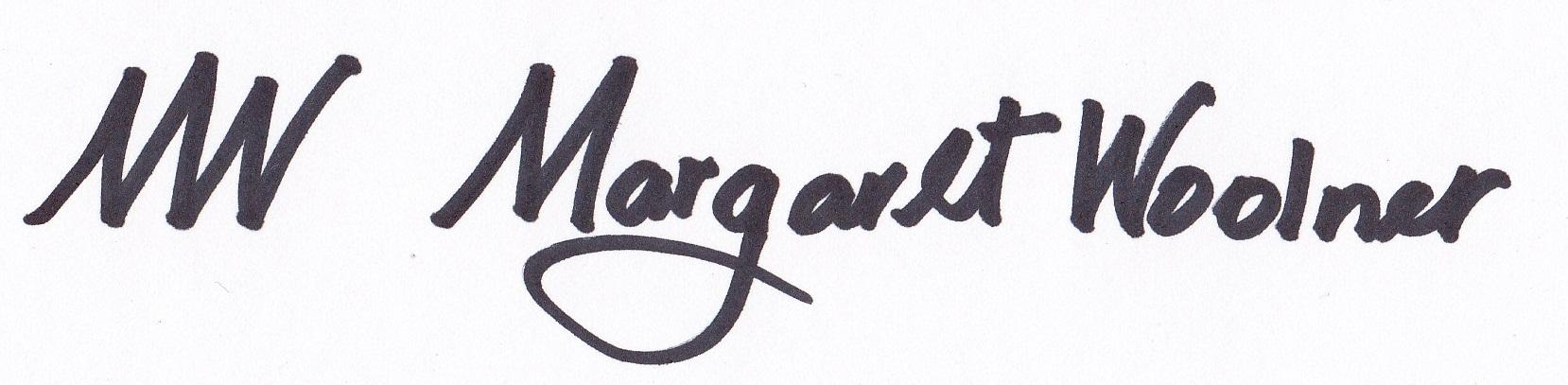 MARGARET WOOLNER's Signature