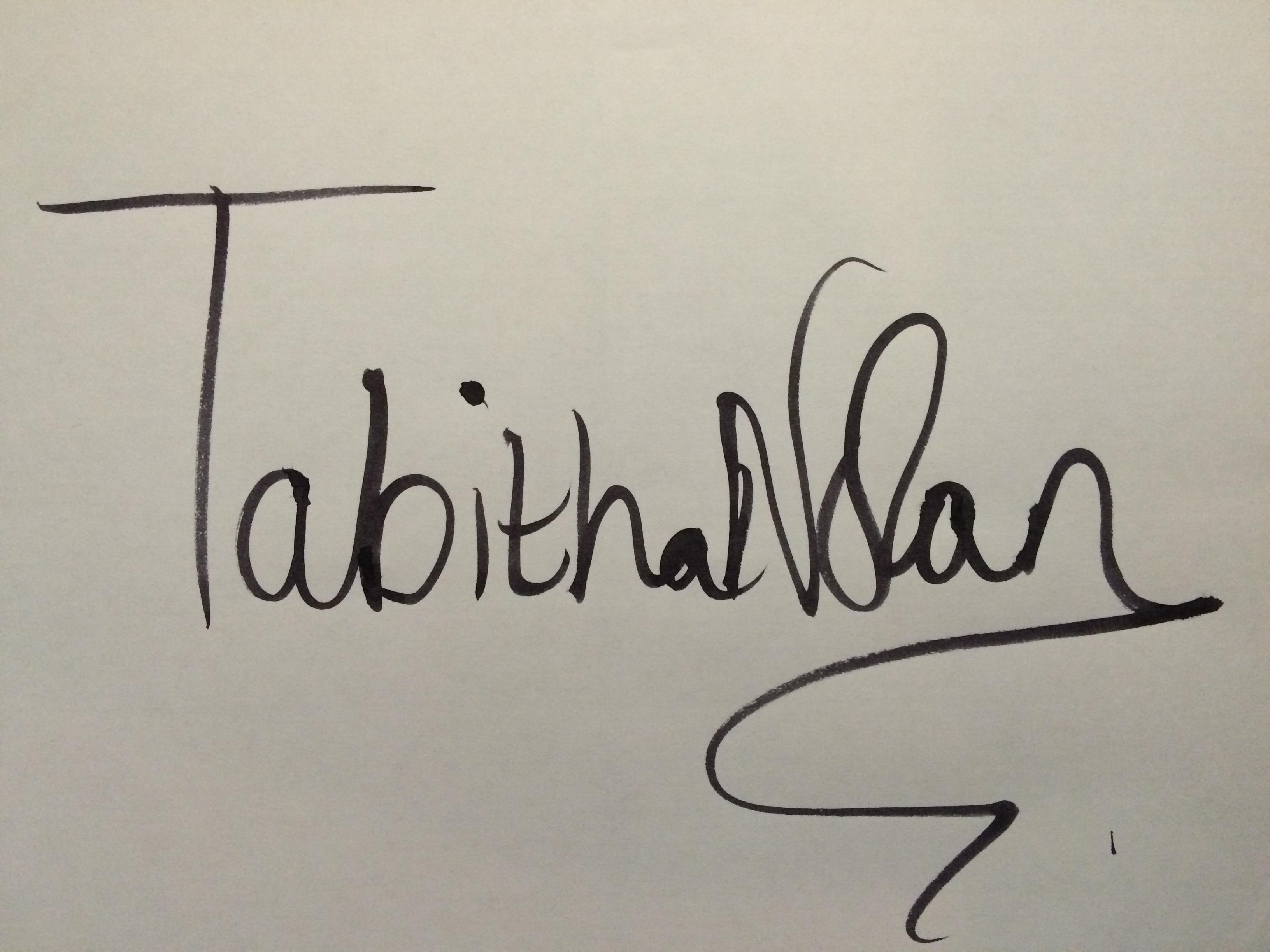 tabitha nolan's Signature