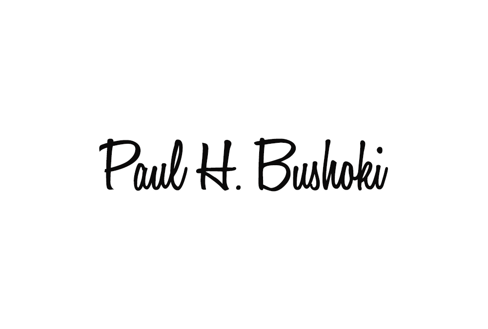Paul Bushoki's Signature