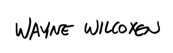 Wayne Wilcoxen's Signature