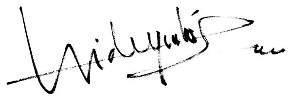 Hideyuki Sobue's Signature