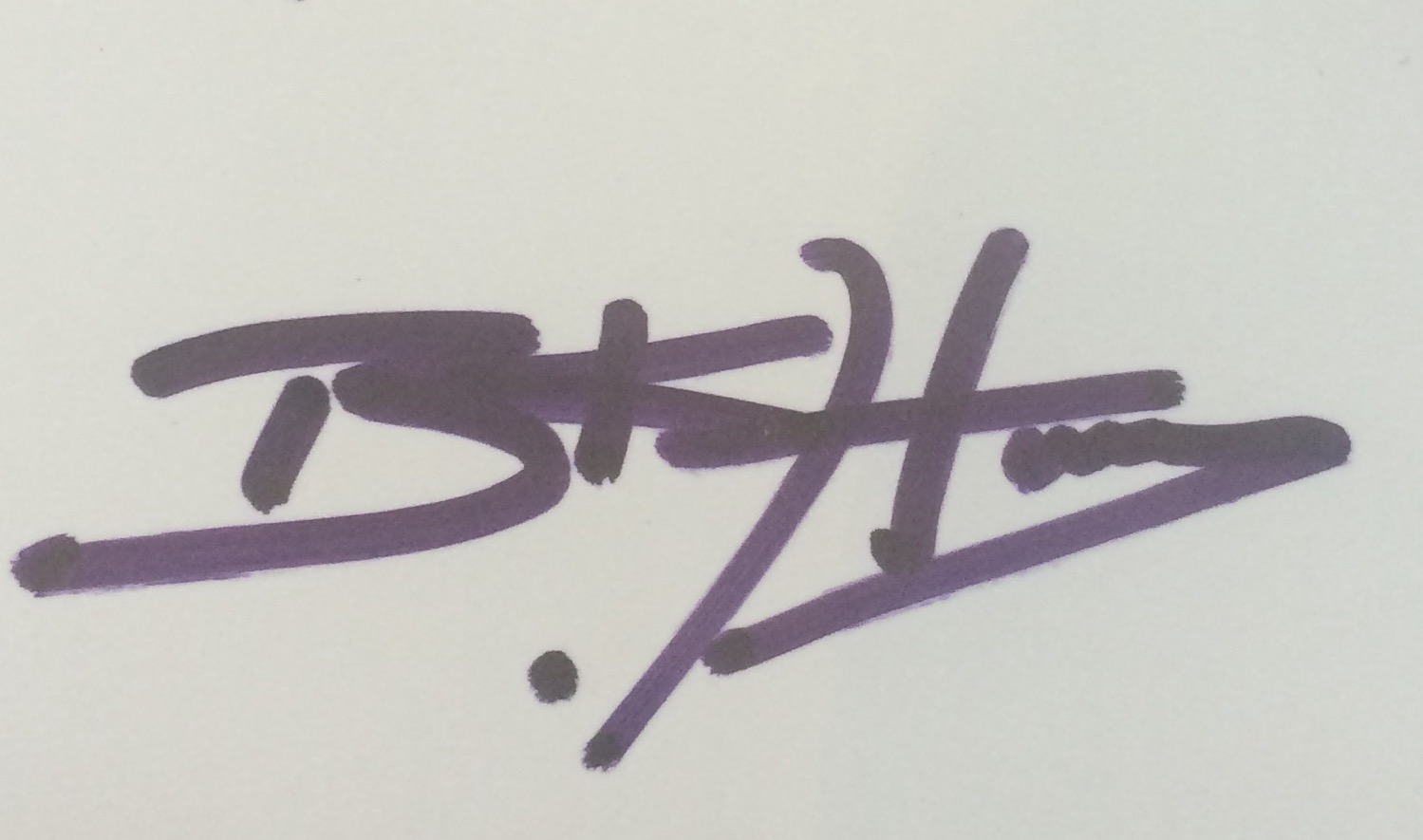 Belinda  Harvy's Signature
