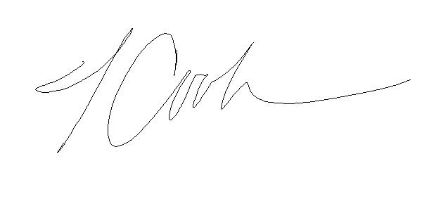 Teresa Cook's Signature