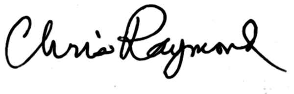 Chris Raymond's Signature