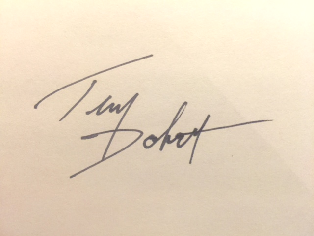 Tim Dobert's Signature