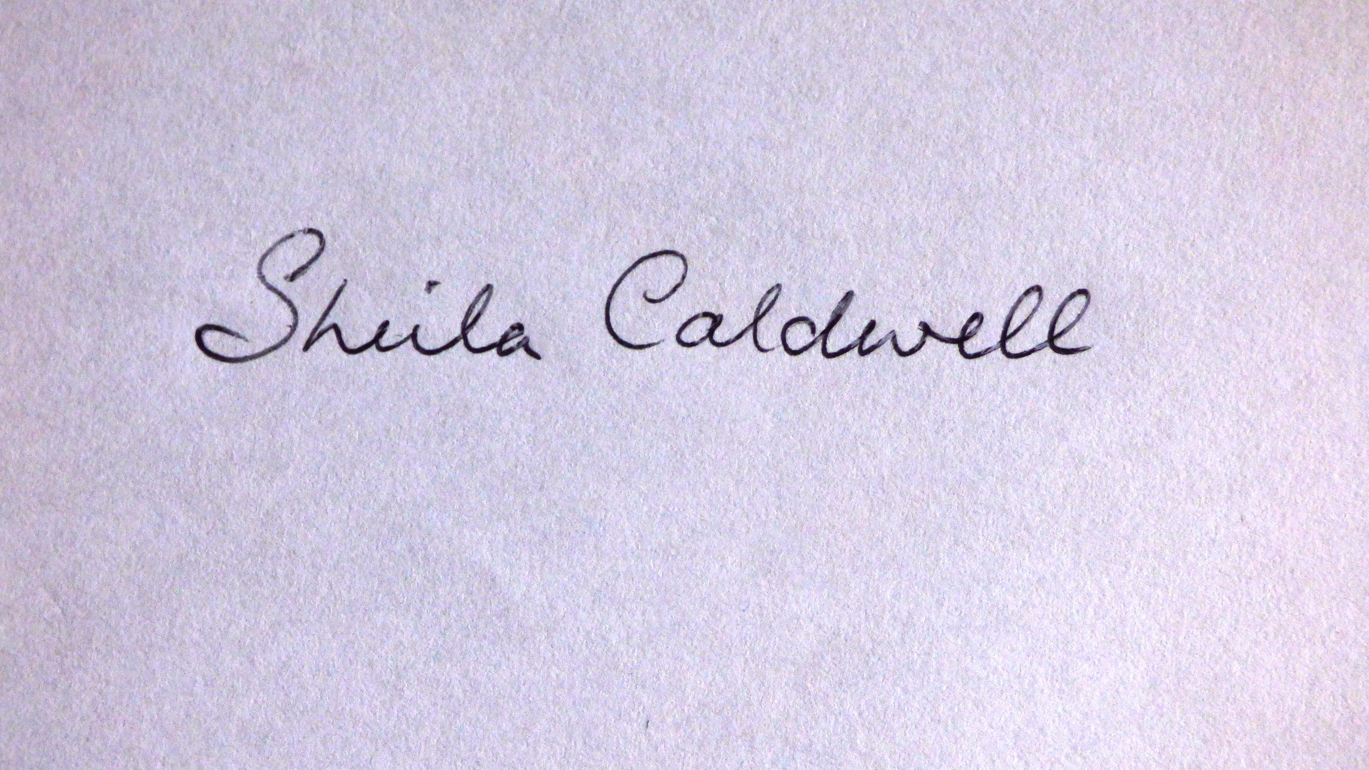 Sheila Caldwell's Signature