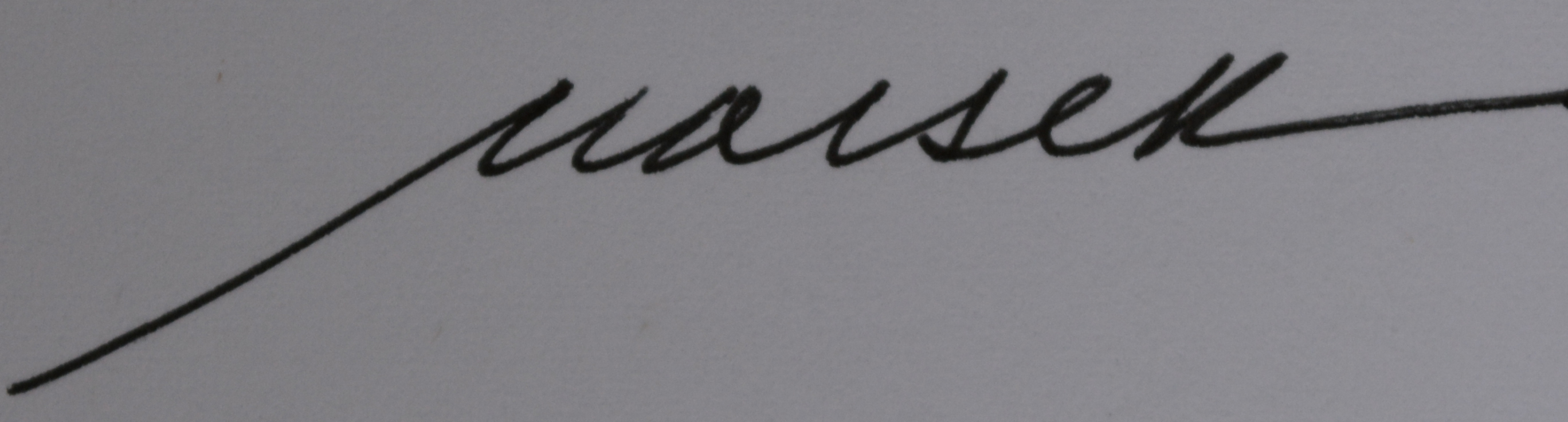 Barbara Maiser's Signature