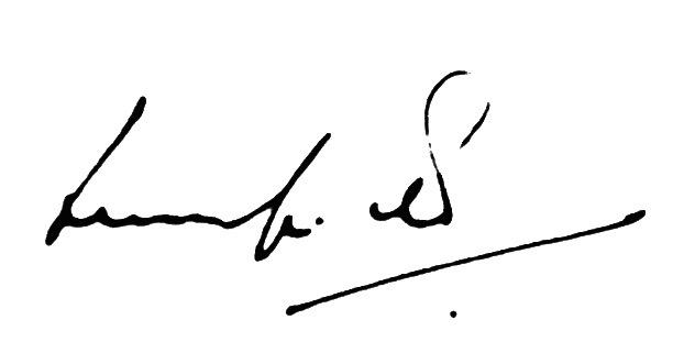 Ludolf R. Grollé's Signature