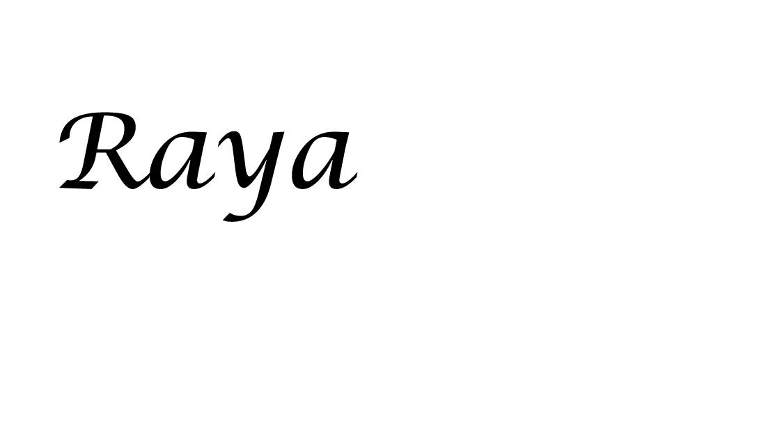 Raya Grinberg's Signature