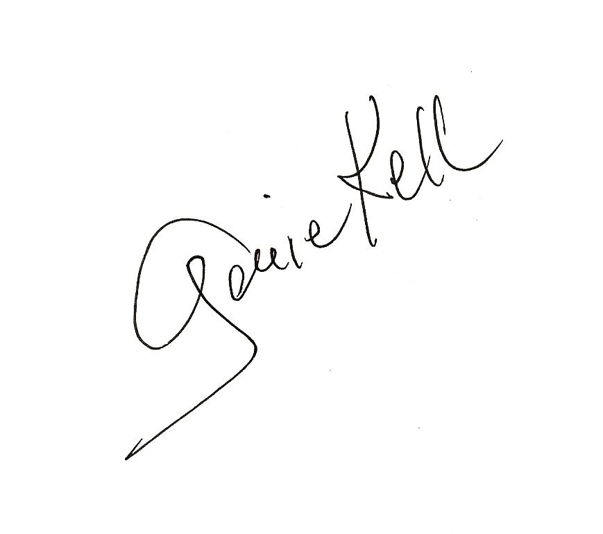 Genie Kell's Signature