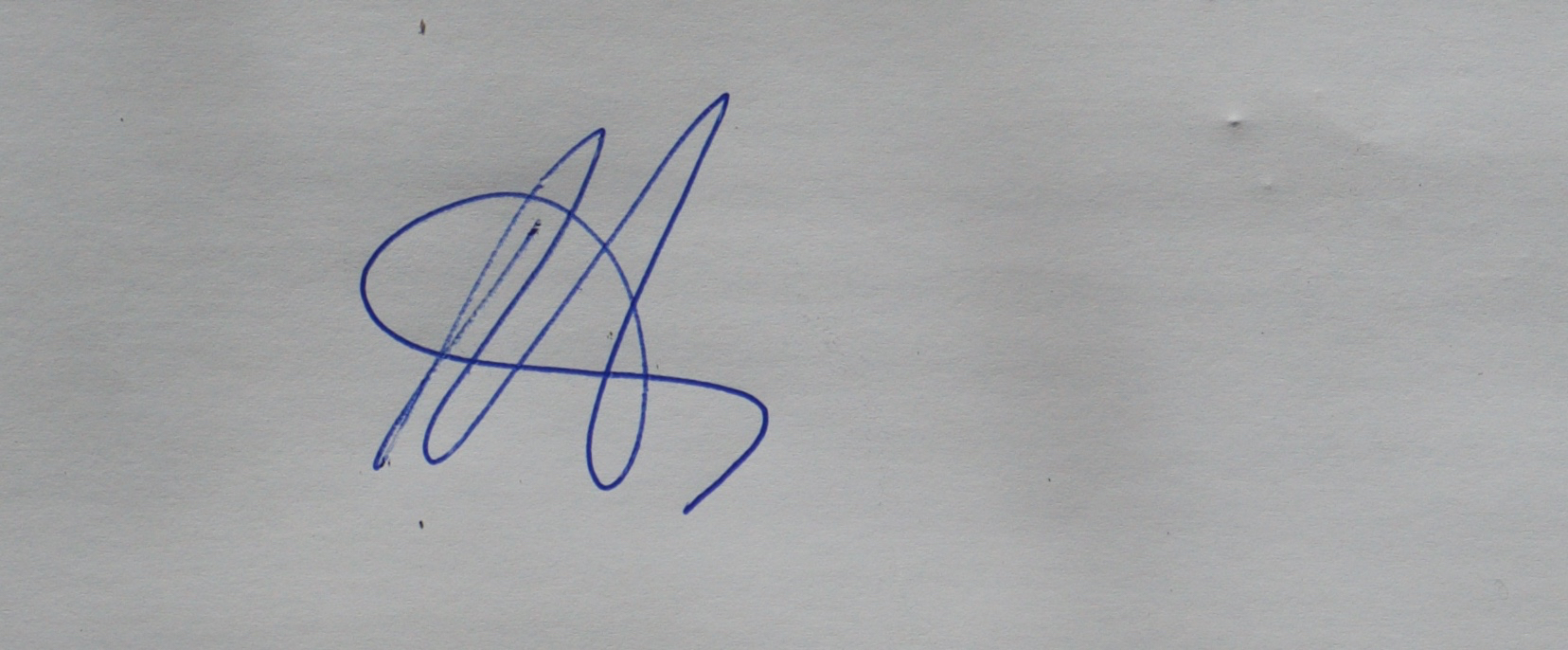 Michelle Thompson's Signature