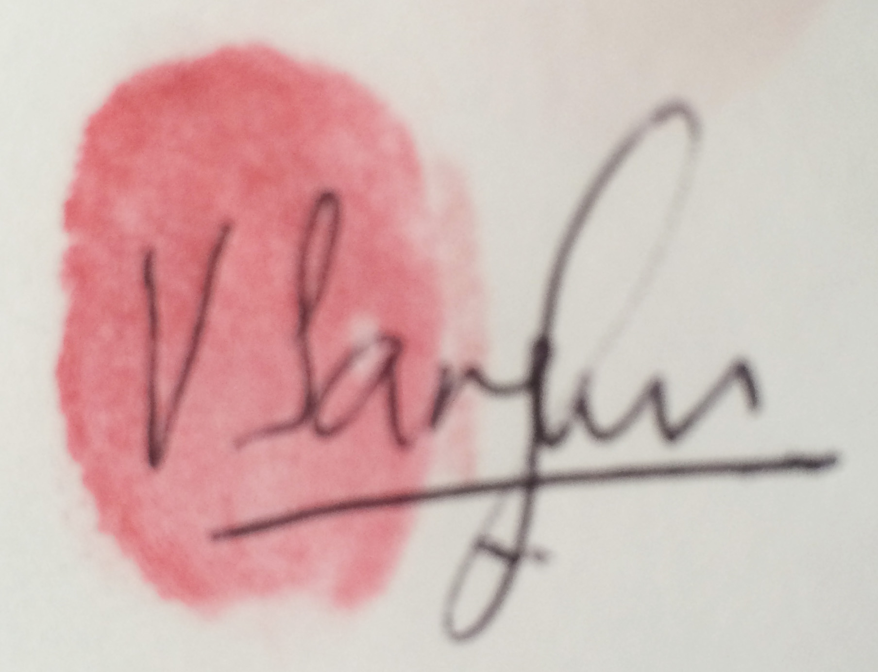 venus sanghvi's Signature