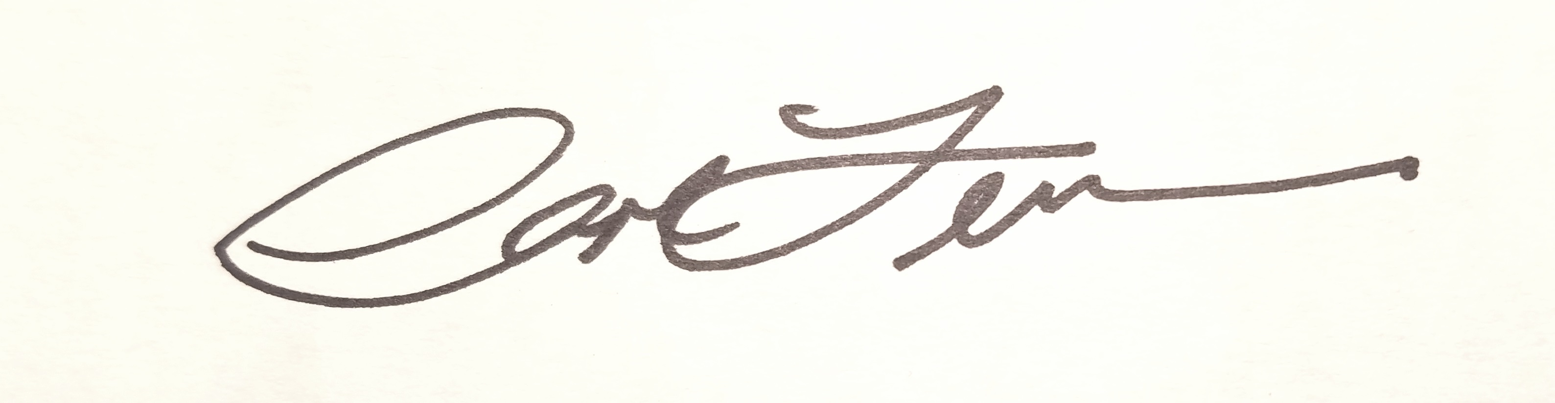 Carol Levin's Signature