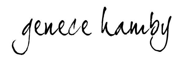 Genece Hamby's Signature