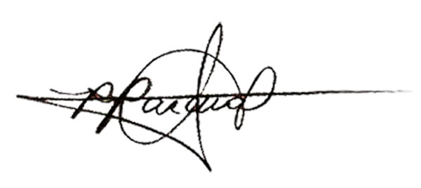 Rommel Pascual's Signature
