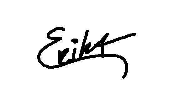 Erika Cespedes's Signature