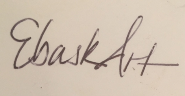 ebony bask's Signature
