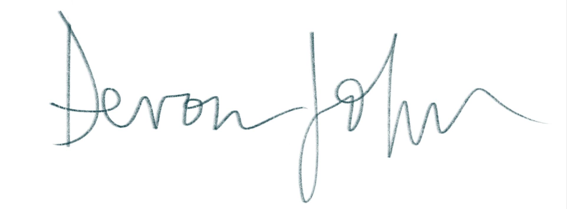 Devon johnson's Signature