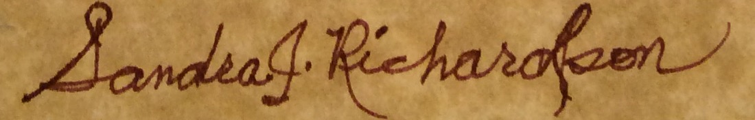 Sandra Richardson's Signature