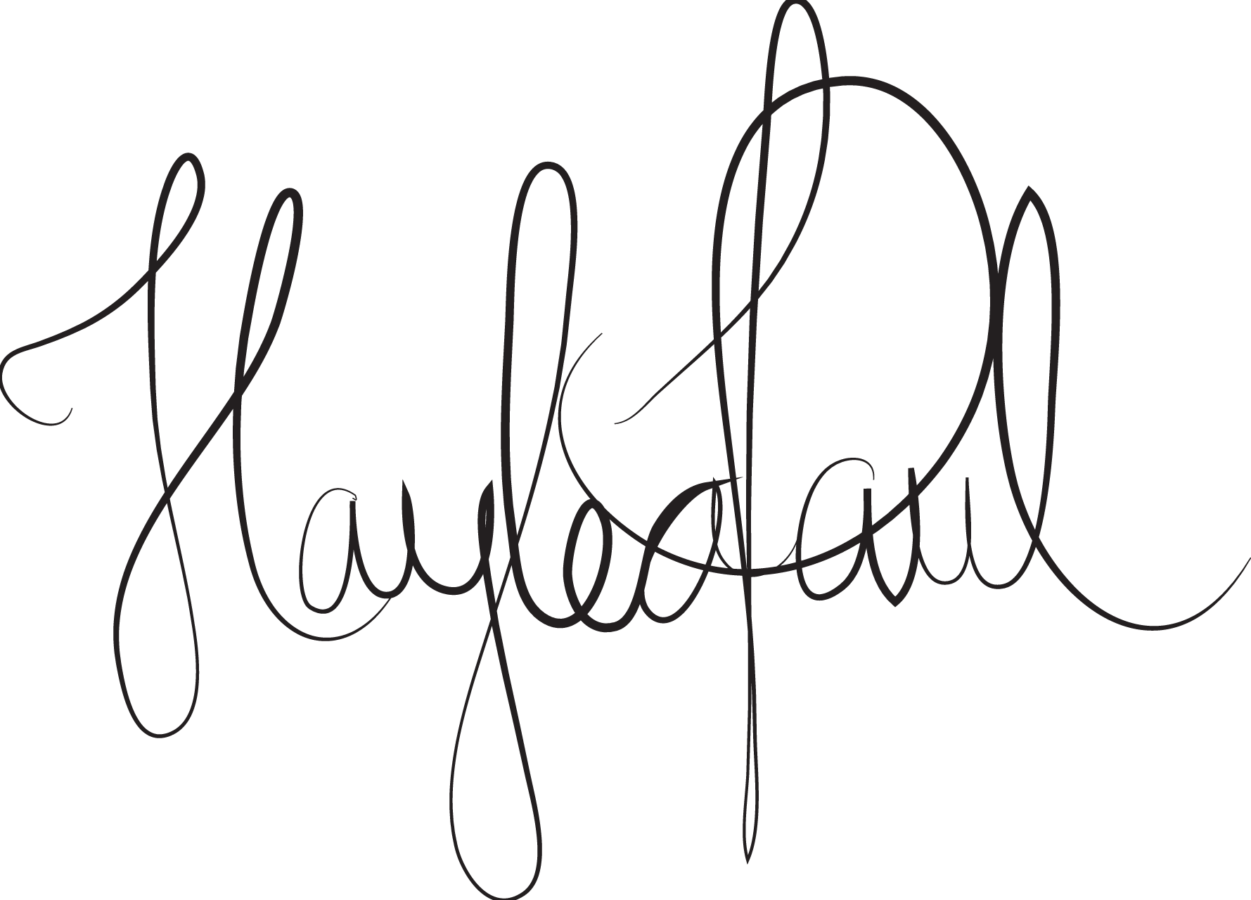 haylea paul's Signature