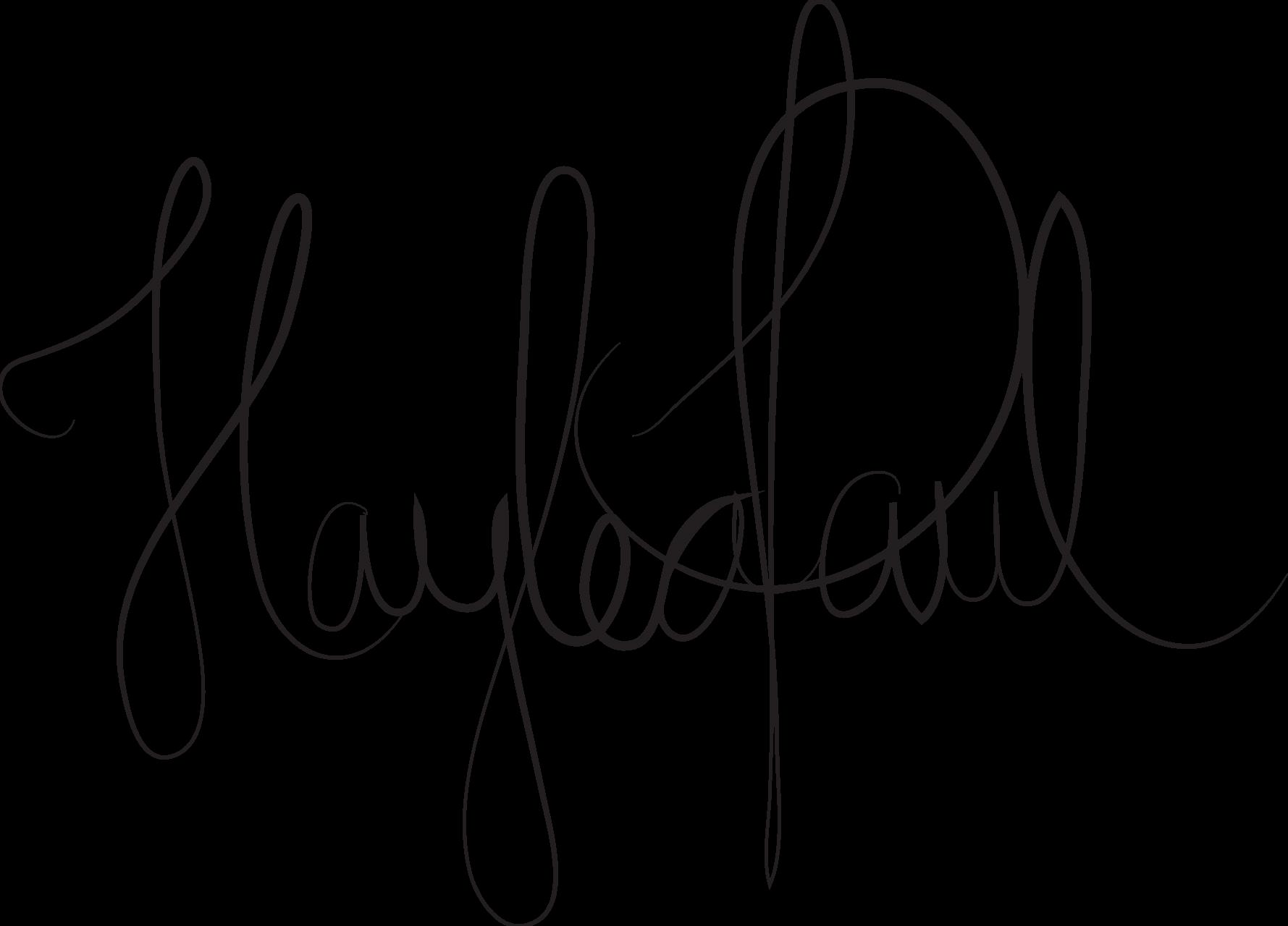 haylea paul's Signature