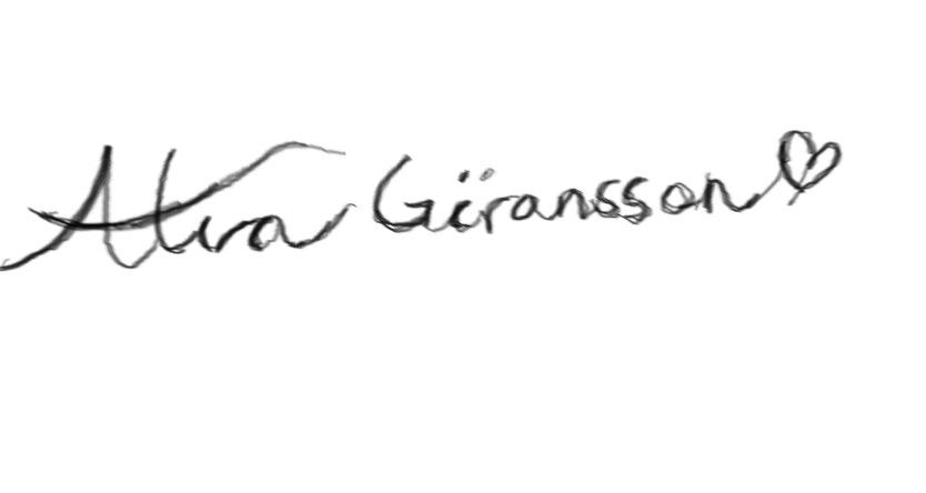 Alva  GOransson's Signature