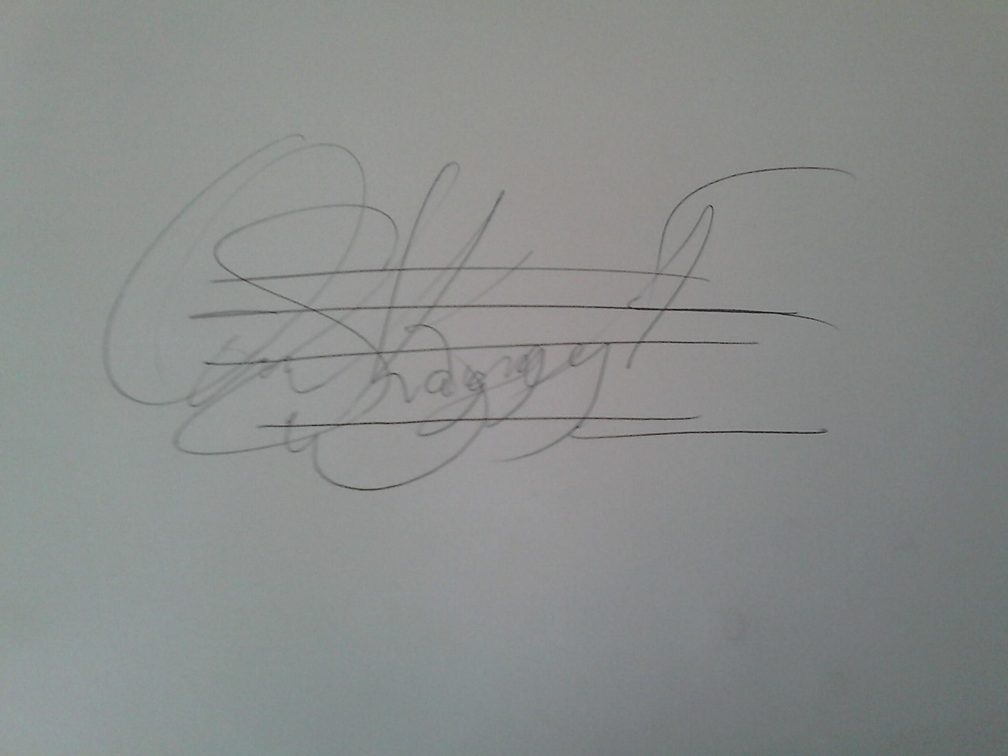 Ofosu  Kwarteng Emmanuel's Signature
